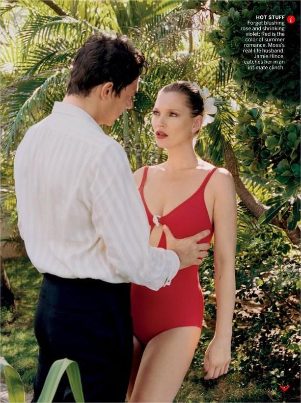 Кейт Мосс снялась в откровенной фотосессии с мужем