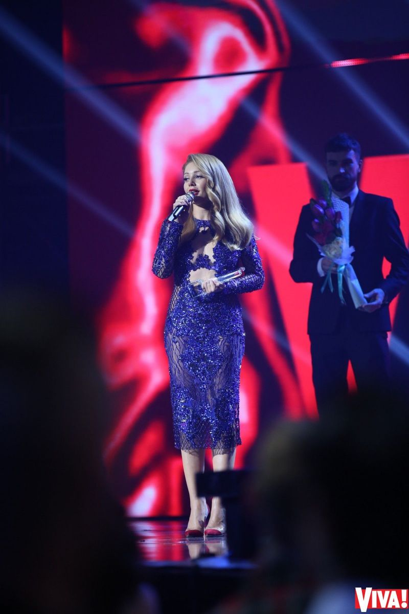 Тина Кароль на церемонии Viva Самые красивые 2017