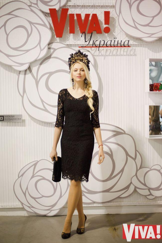 Оля Полякова платье фото
