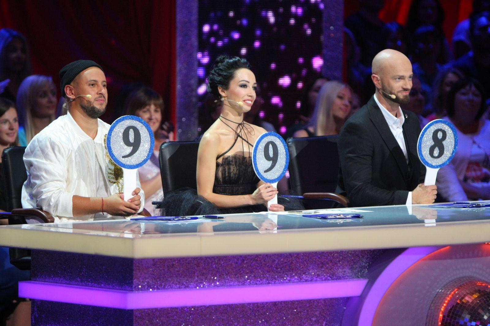 Судьи шоу «Танцы со звездами»: Monatik, Екатерина Кухар и Влад Яма