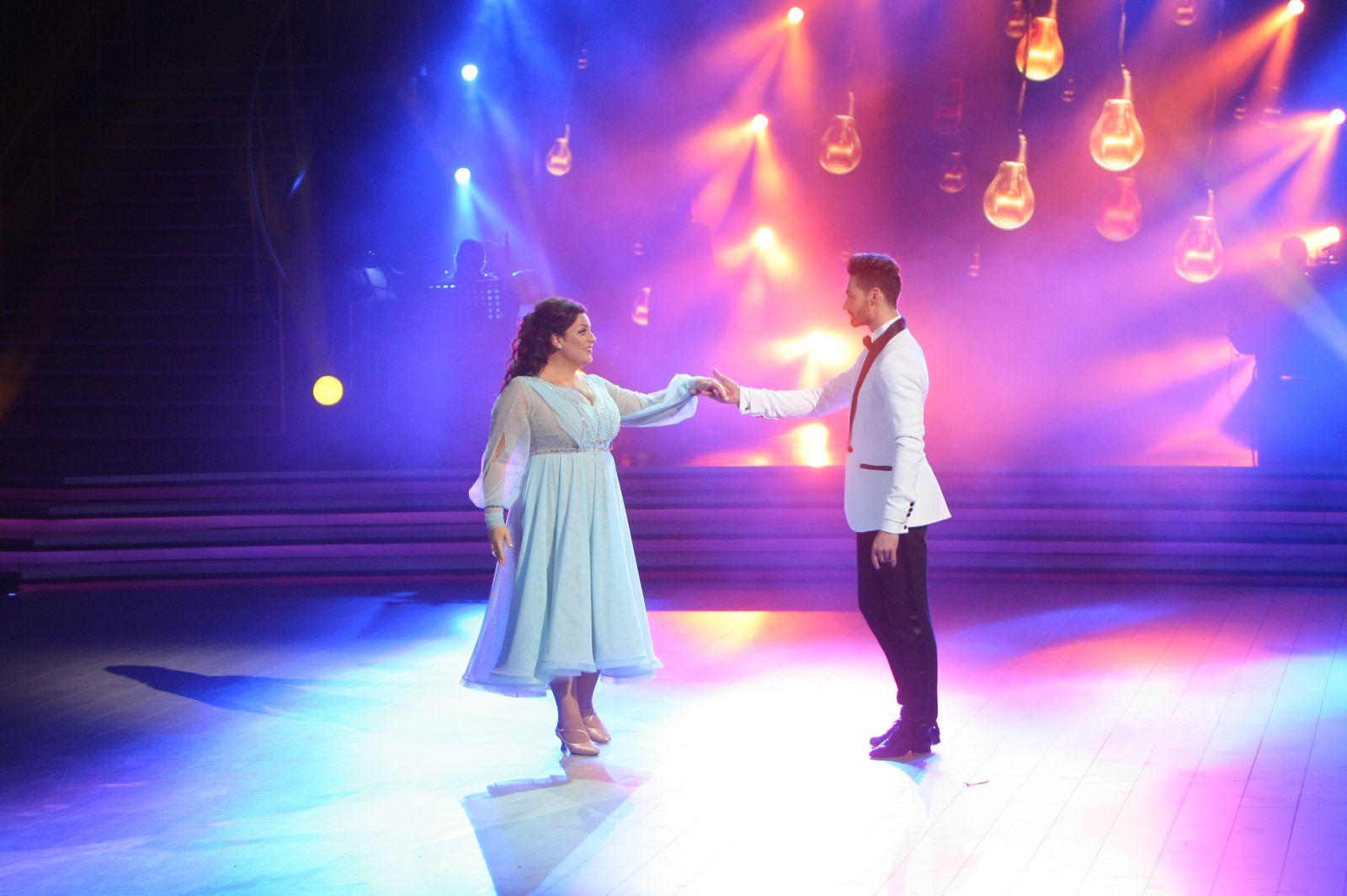 Танці з зірками. Наталья Холоденко и Виталий Загоруйко