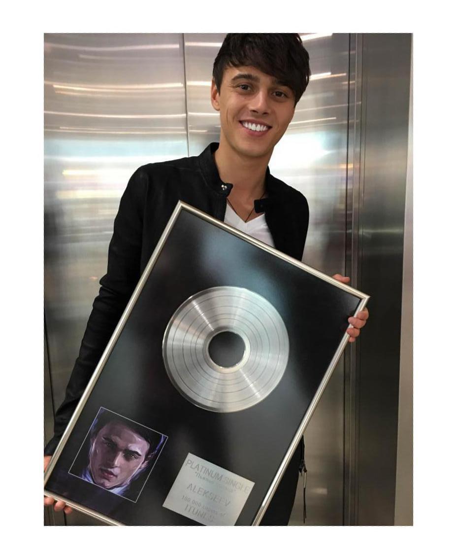 Alekseev стал первым в Украине обладателем платинового сингла в iTunes!