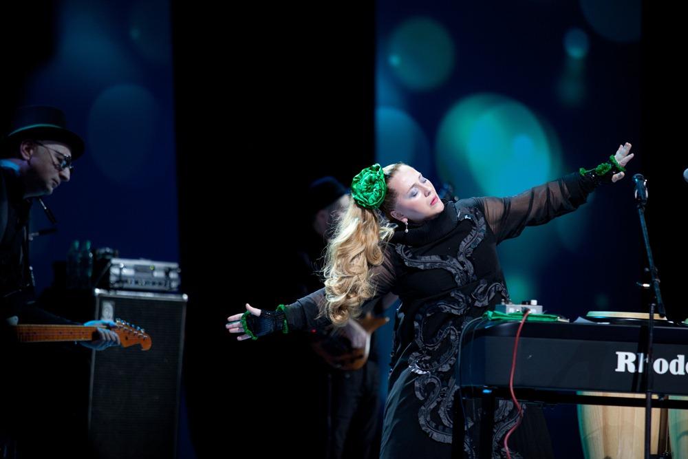 Невероятная Нино Катамадзе исполнит свои хиты на джазовом фестивале в Чернигове