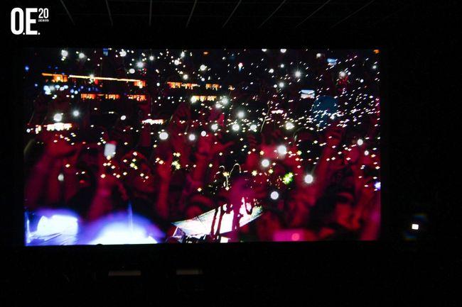 Премьера киноверсии легендарного концерта Океан Ельзи: эксклюзивный репортаж