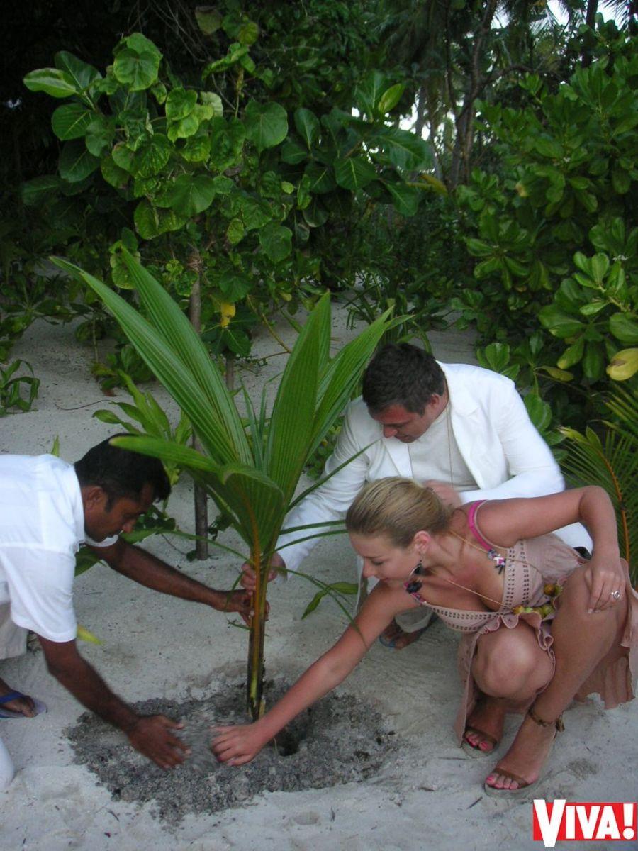 Уникальные фото со свадьбы Тины Кароль на Мальдивах: эксклюзив Viva.ua