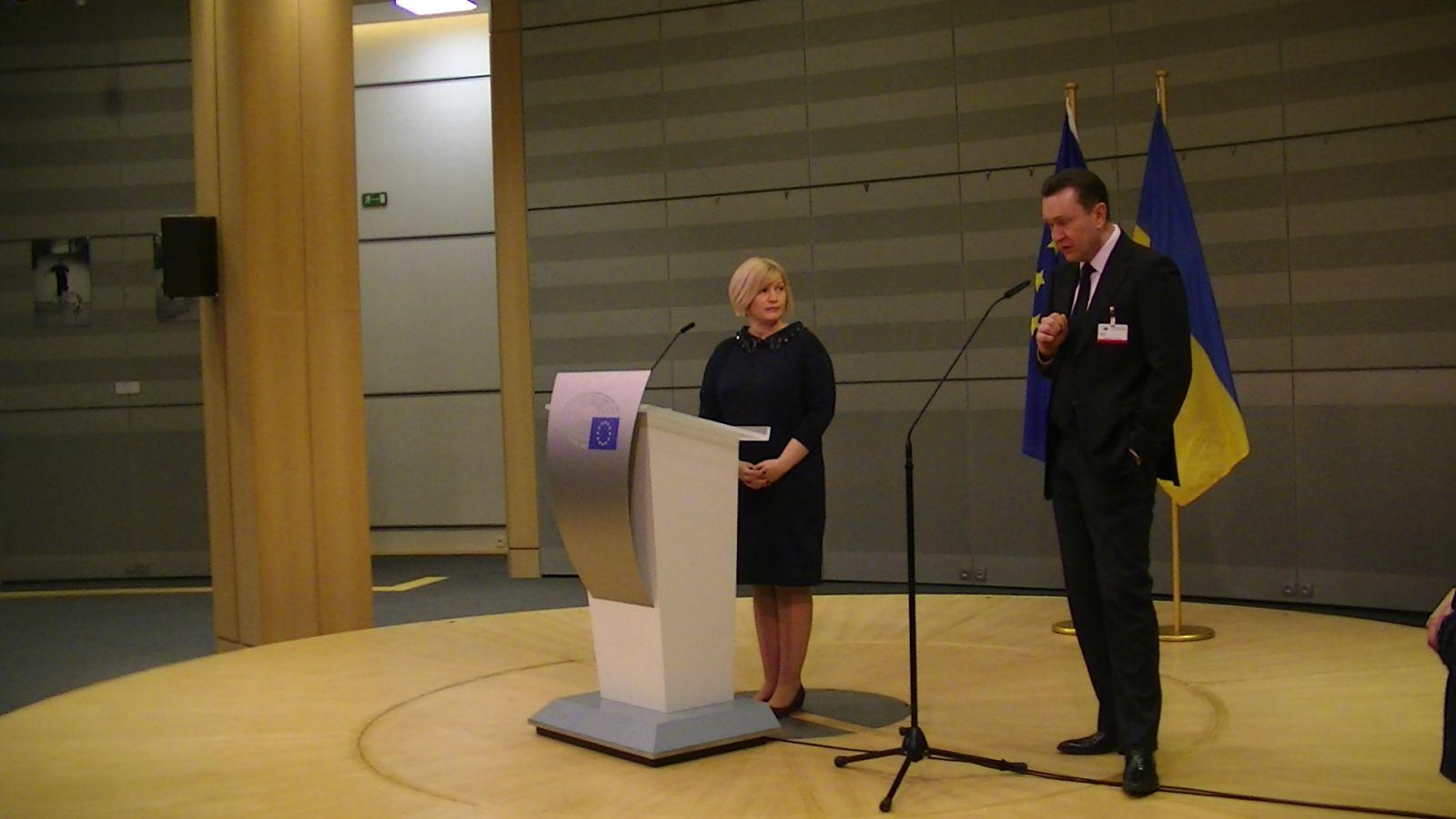 Презентация проекта «Переможці» в Европарламенте