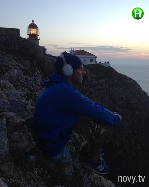 Александр Педан оторвался на отдыхе в Португалии