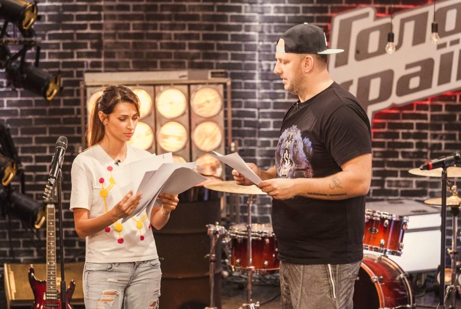 Потап и Татьяна Решетняк готовятся к финалу шоу «Голос країни-5»