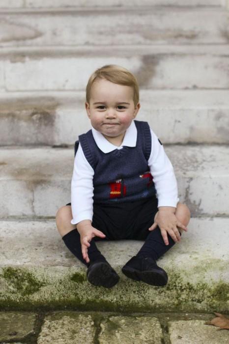 новые снимки подросшего сына Кейт Миддлтон