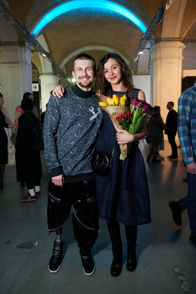Герой АТО вышел на подиум Ukrainian Fashion Week