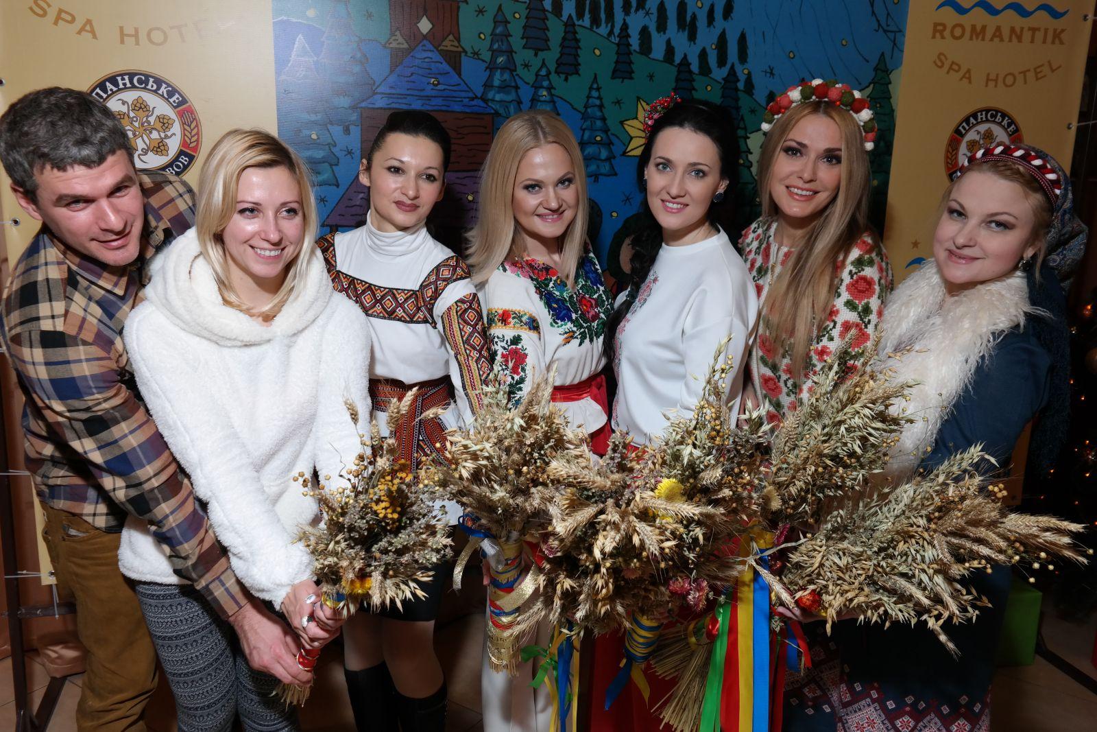 Арсен Мирзоян, Тоня Матвиенко, Наталья Бучинская, Соломия Витвицкая, Ольга Сумская и Мария Бурмака
