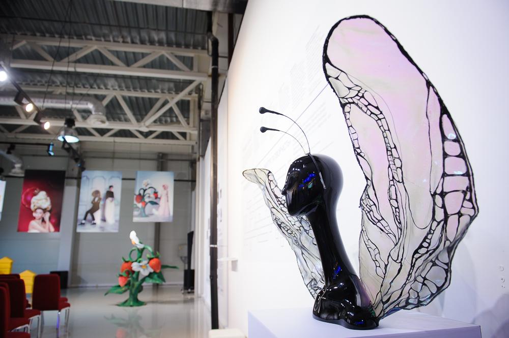 Звезды на открытии выставки, посвященной Марко Вовчок