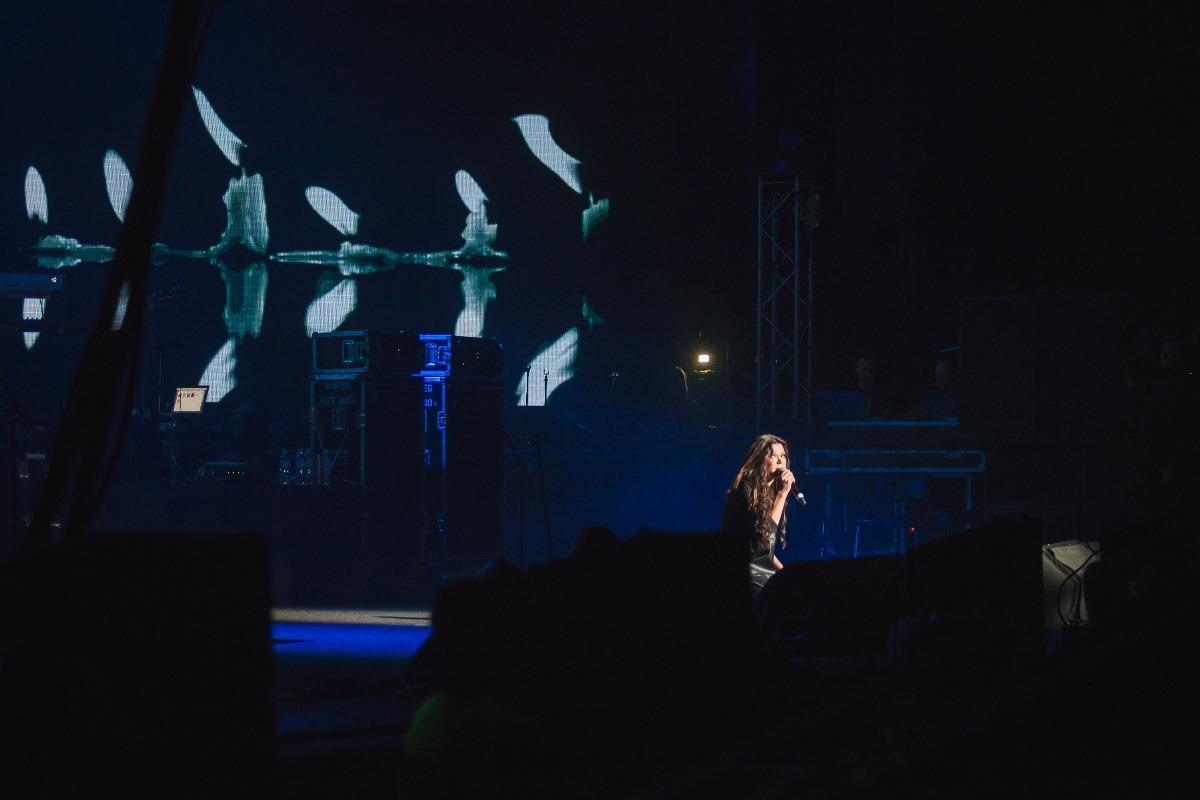Руслана на концерте памяти Кузьмы Скрябина