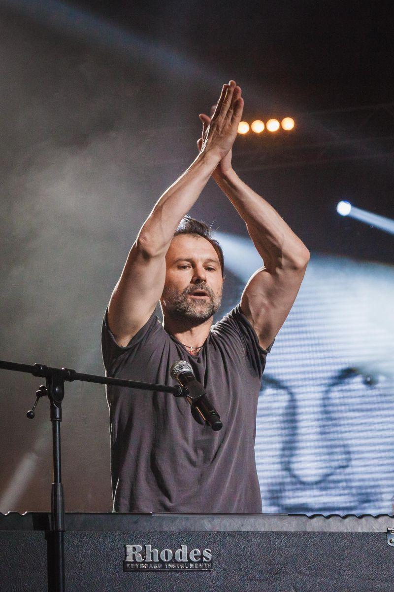 Святослав Вакарчук на концерте памяти Кузьмы Скрябина