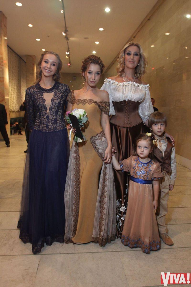 Егорова Снежана с детьми