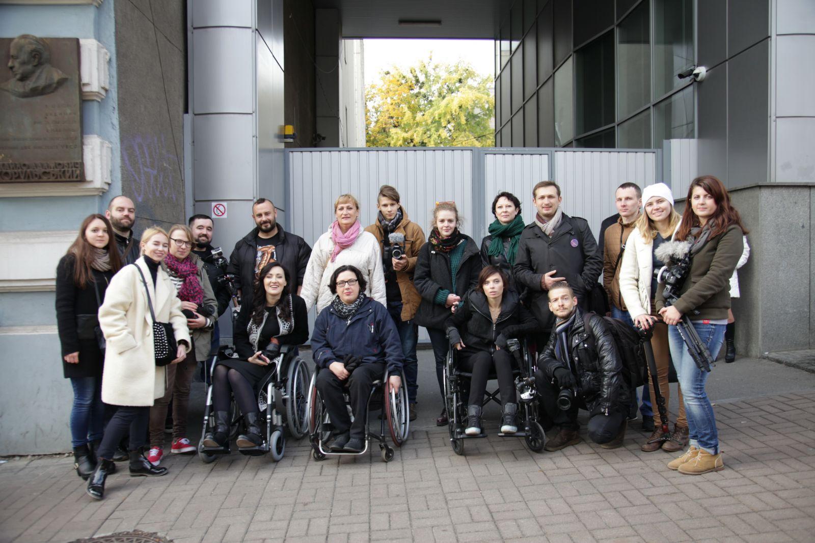 Соломия Витвицкая и Ирэна Карпа сели в инвалидные коляски и проехались по Киеву рекомендации