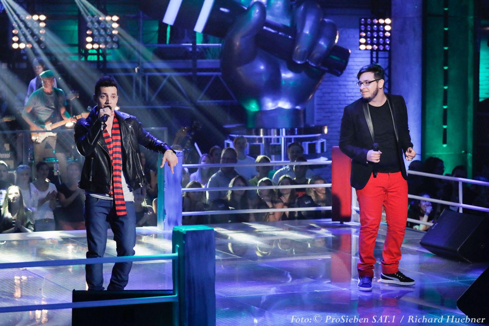 Стас Шуринс на шоу Voice of Germany
