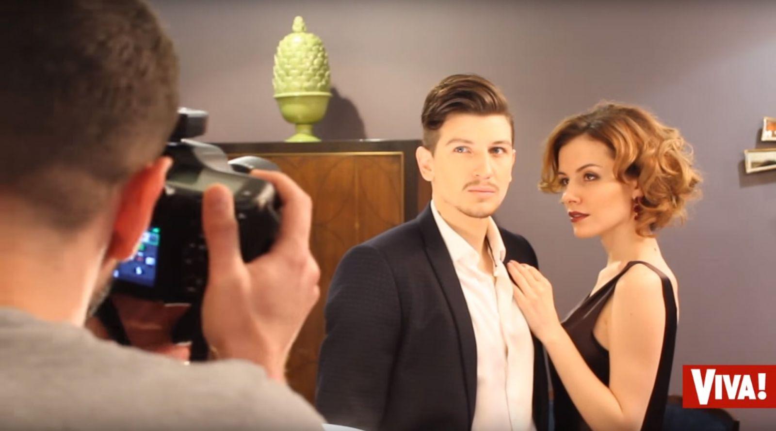 Эрика и ее любимый мужчина: эксклюзивное видео Viva.ua