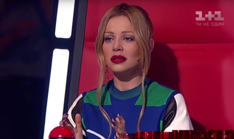"""Тина Кароль расплакалась из-за песни Джамалы на шоу """"Голос.Діти-3"""""""