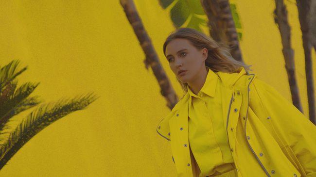 Экс-Ева Бушмина в кислотно-желтом наряде прогулялась по Лос-Анджелесу