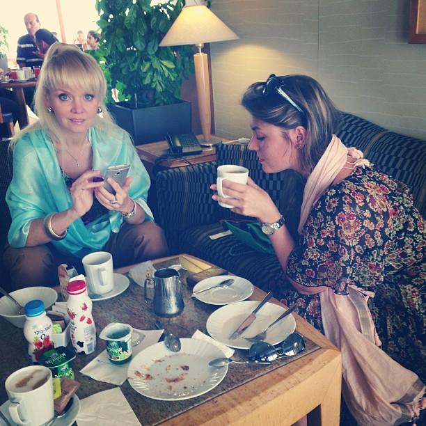 Валерия путешествует с Анной Шульгиной по Израилю