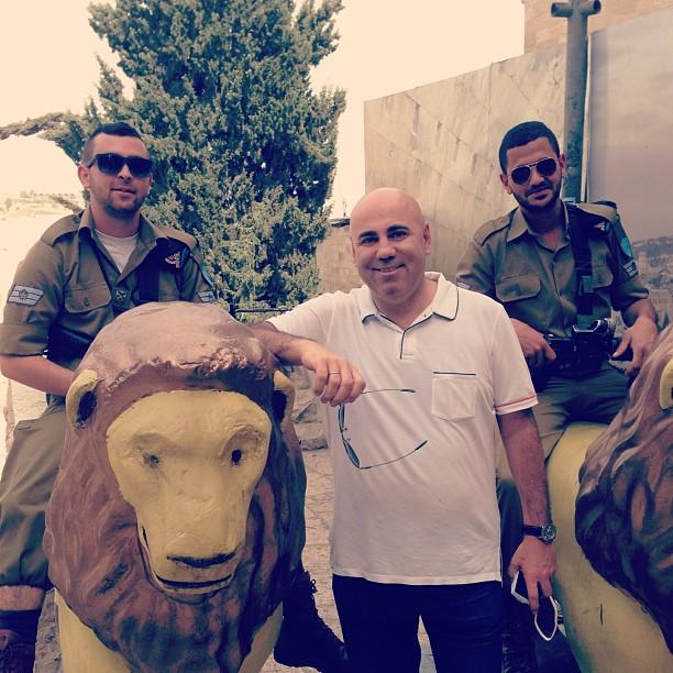 Иосиф Пригожин в Израиле