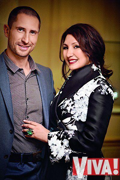 Денис Силантьев жена Инна семья фото вива