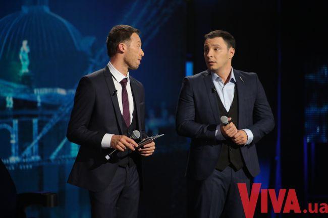 Ведущий Україна має талант 7 Константин Томильченко впервые в жизни надел костюм
