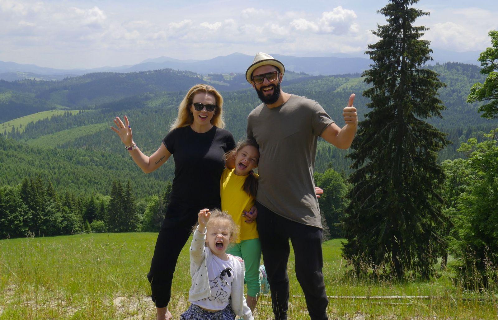 Kishe  с семьей отдохнул в Буковеле