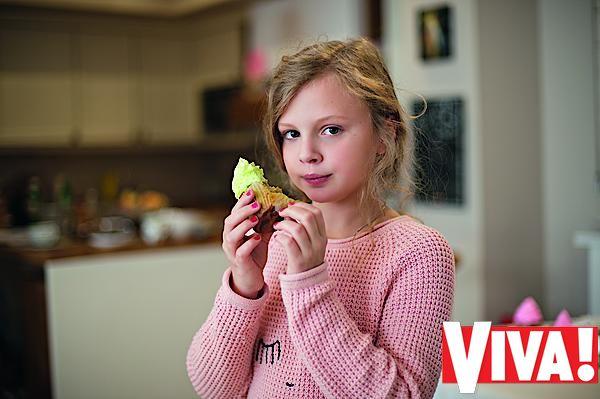 Беременная Ольга Фреймут в фотосессии для Viva!