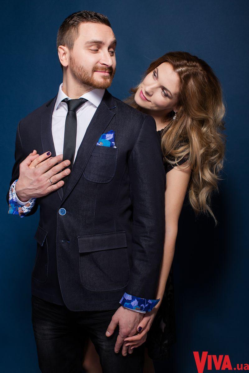 Олег Собчук и его жена Мария