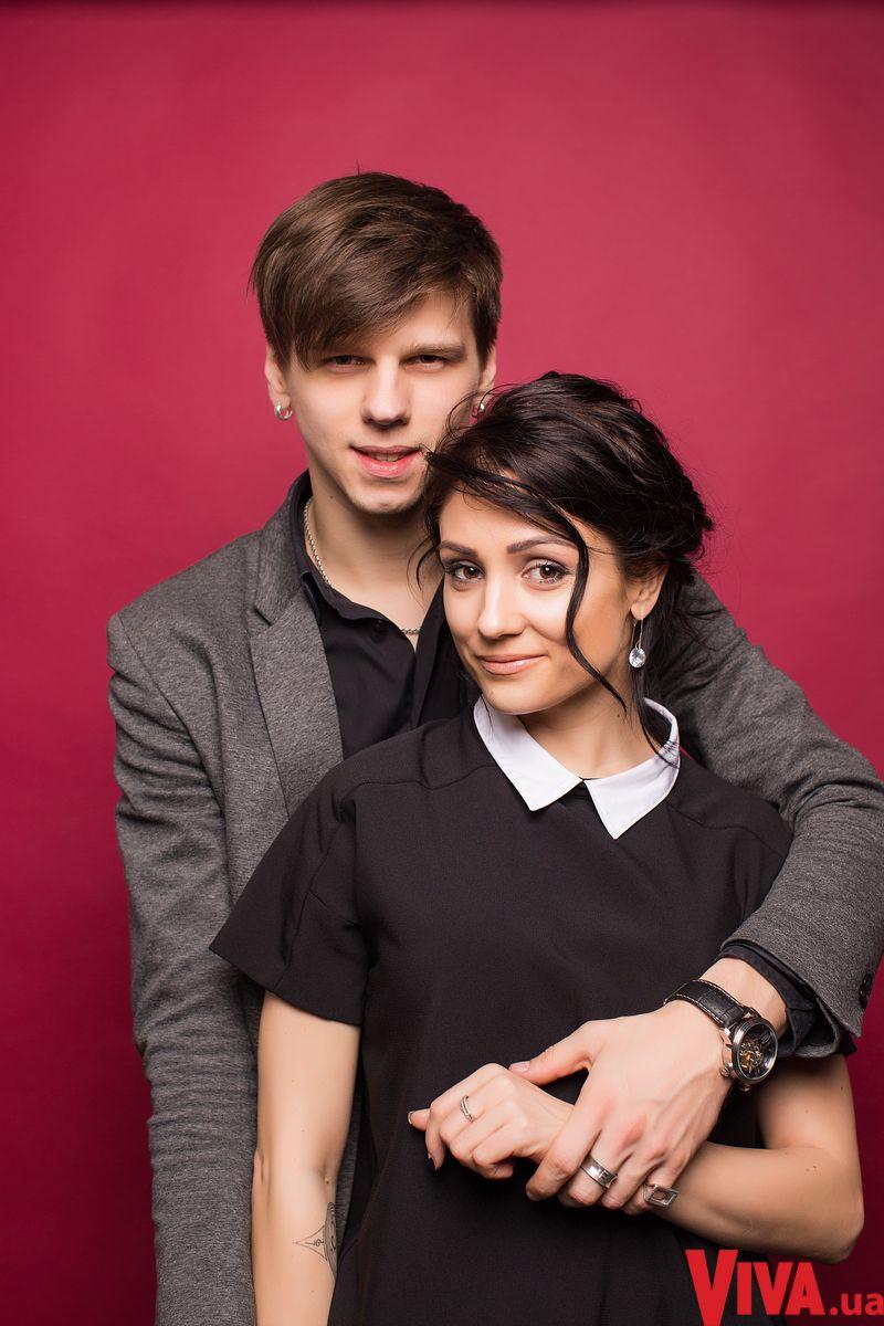 Александр Лещенко и Лина Верес в фотосессии для Viva.ua
