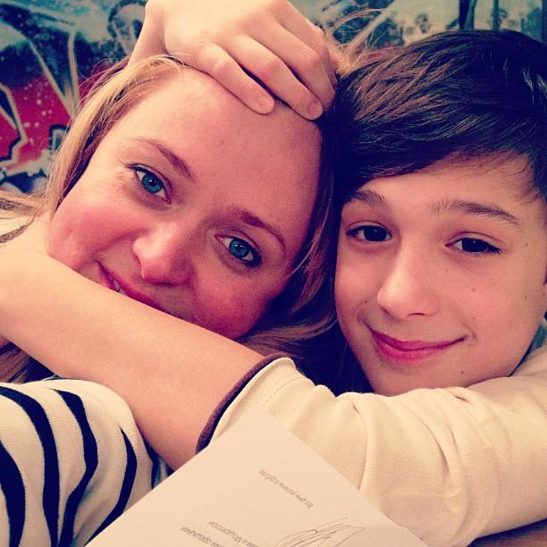 Анна Михалкова семья дети фото