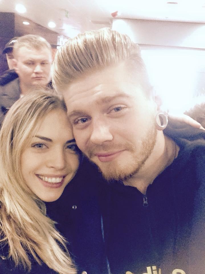 Александр Кривошапко с девушкой отправился праздновать день рождения в Норвегии