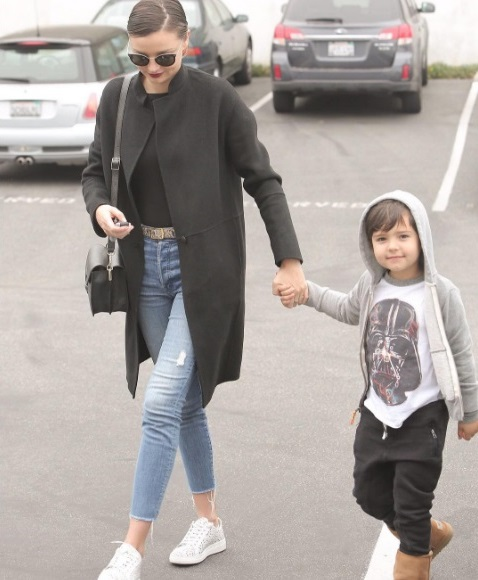 Фотофакт: сын Миранды Керр и Орландо Блума растет настоящим красавцем