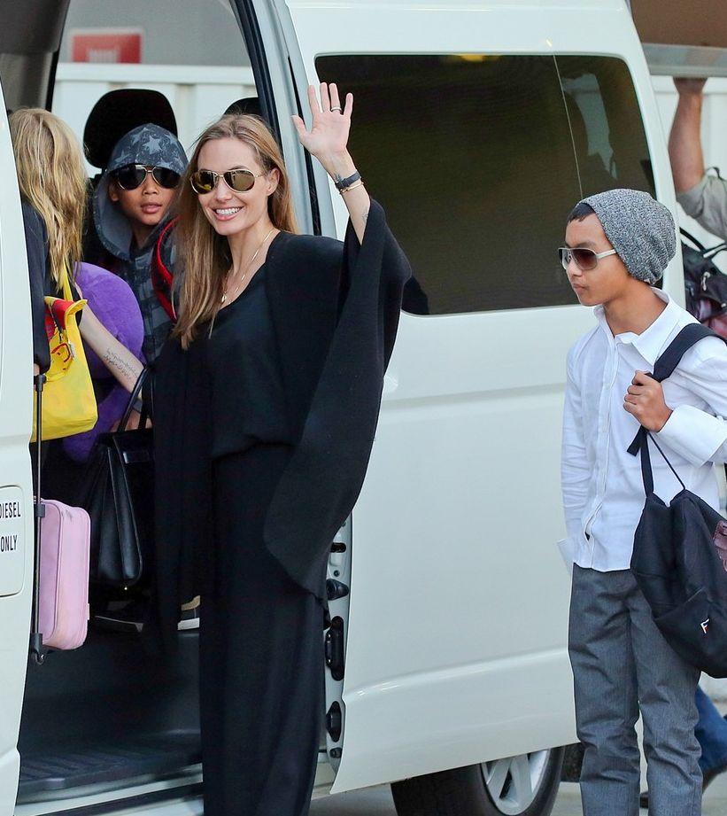 Анджелина Джоли фото дети