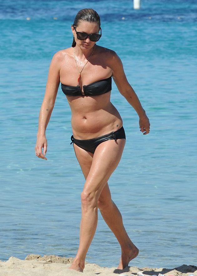 Кейт Мосс и Наоми Кэмпбелл позируют на пляже