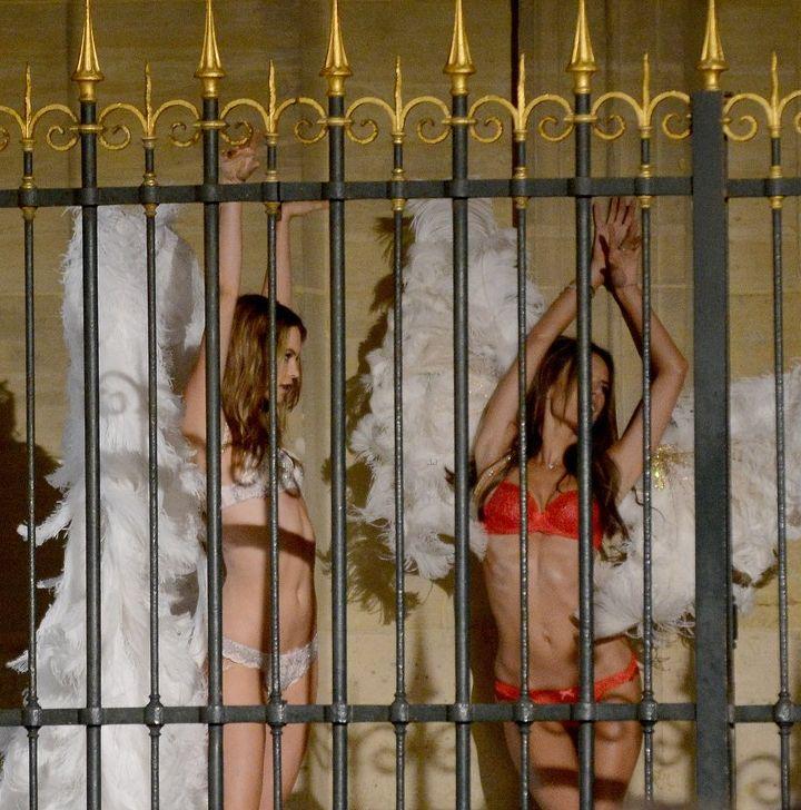 ангелы Victoria's Secret фото