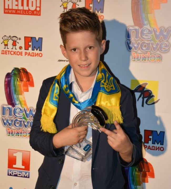Андрей Бойко победитель конкурса Детская Новая волна 2014