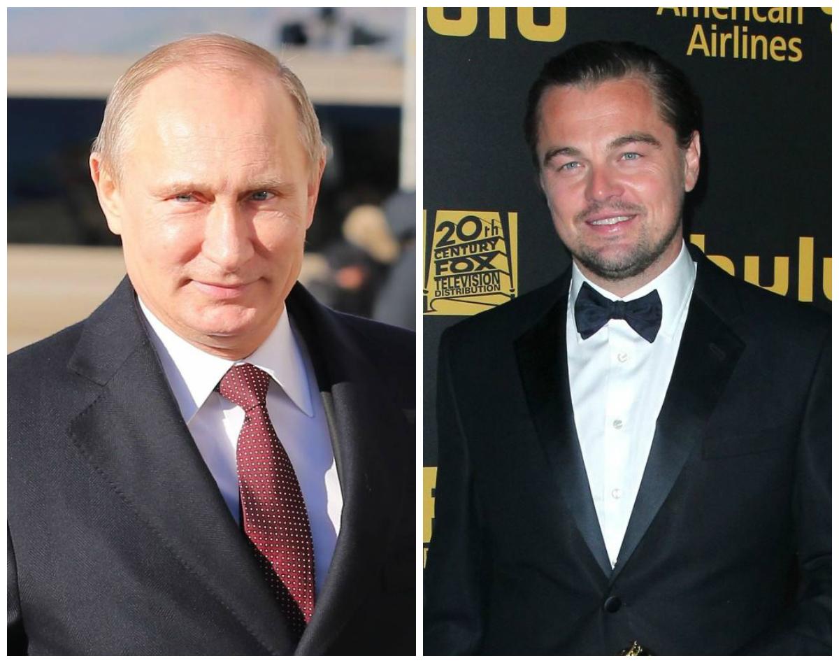 Неожиданно: Леонардо ДиКаприо признался, что хочет сыграть Владимира Путина