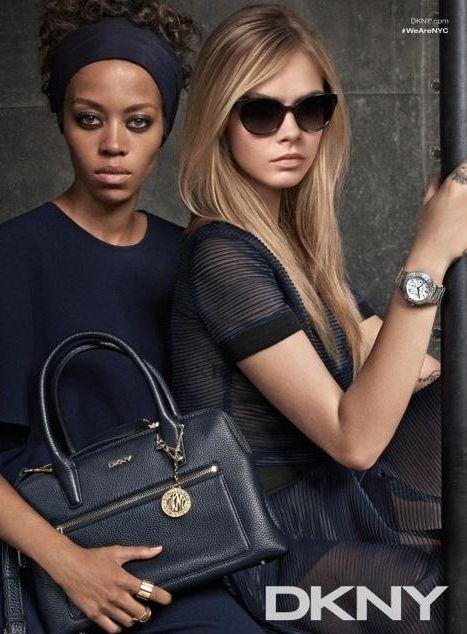 Кара Делевинь в рекламе модного бренда
