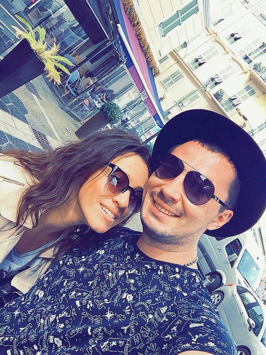 Наталка Карпа провела с женихом уикенд в Ницце