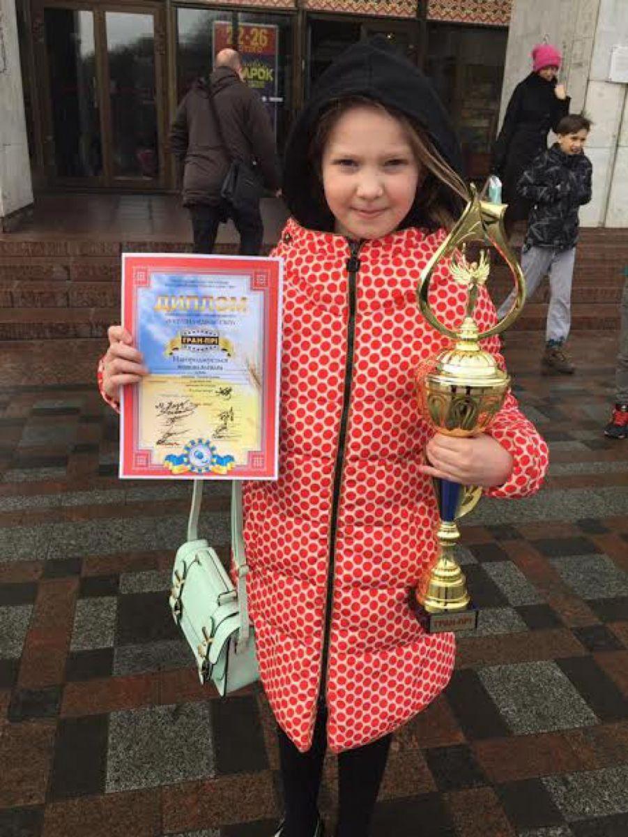 Маленькая звезда: дочь Евгения Кошевого выиграла песенный конкурс с песней Джамалы