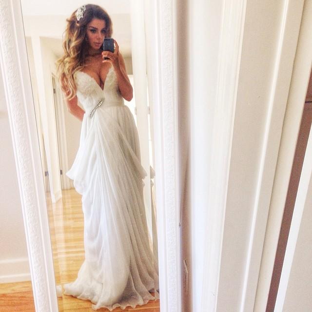 Анна Седокова свадьба фото