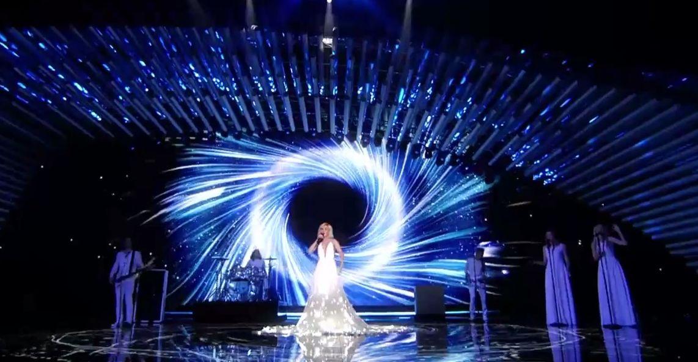 Полина Гагарина на Евровидении 2015