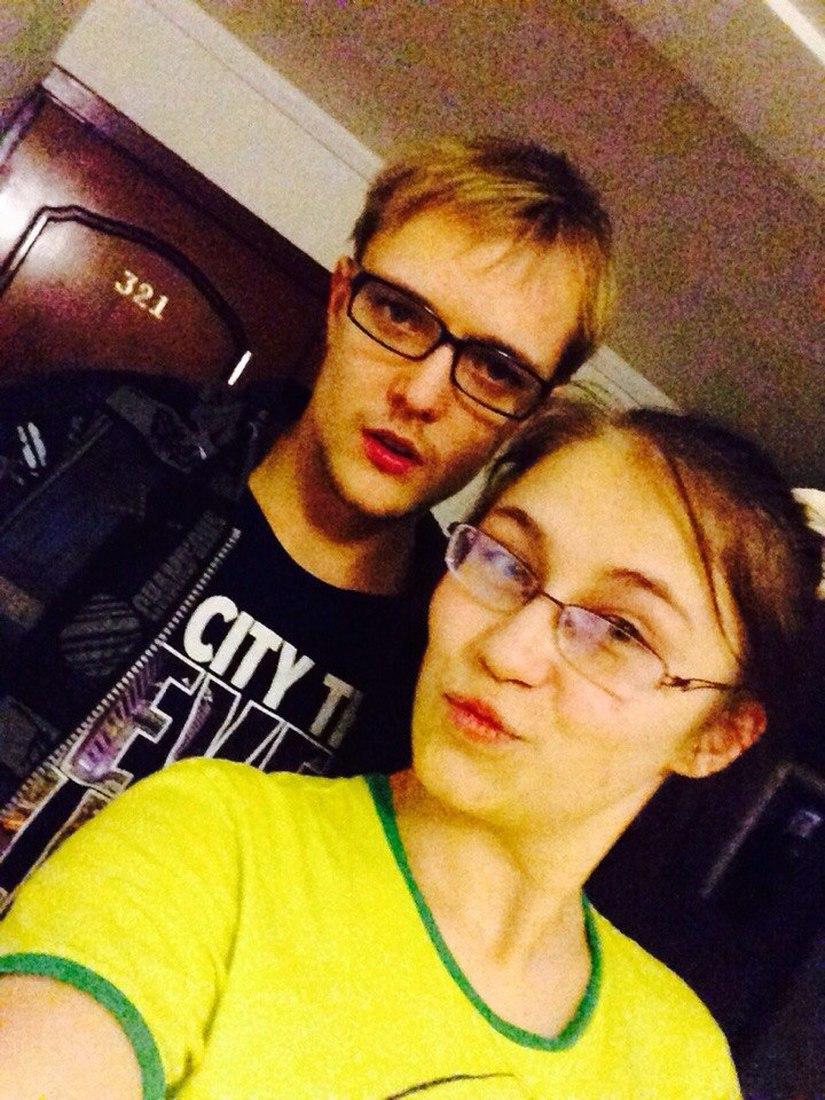 Сын Сергея Зверева и Мария Бикмаева