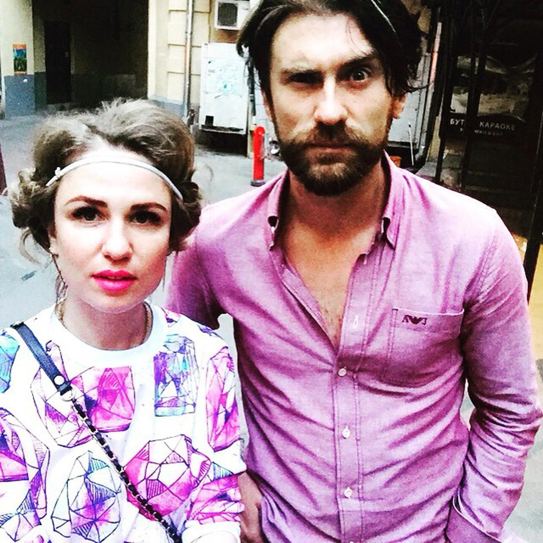 Валерия Гай Германика со своим супругом