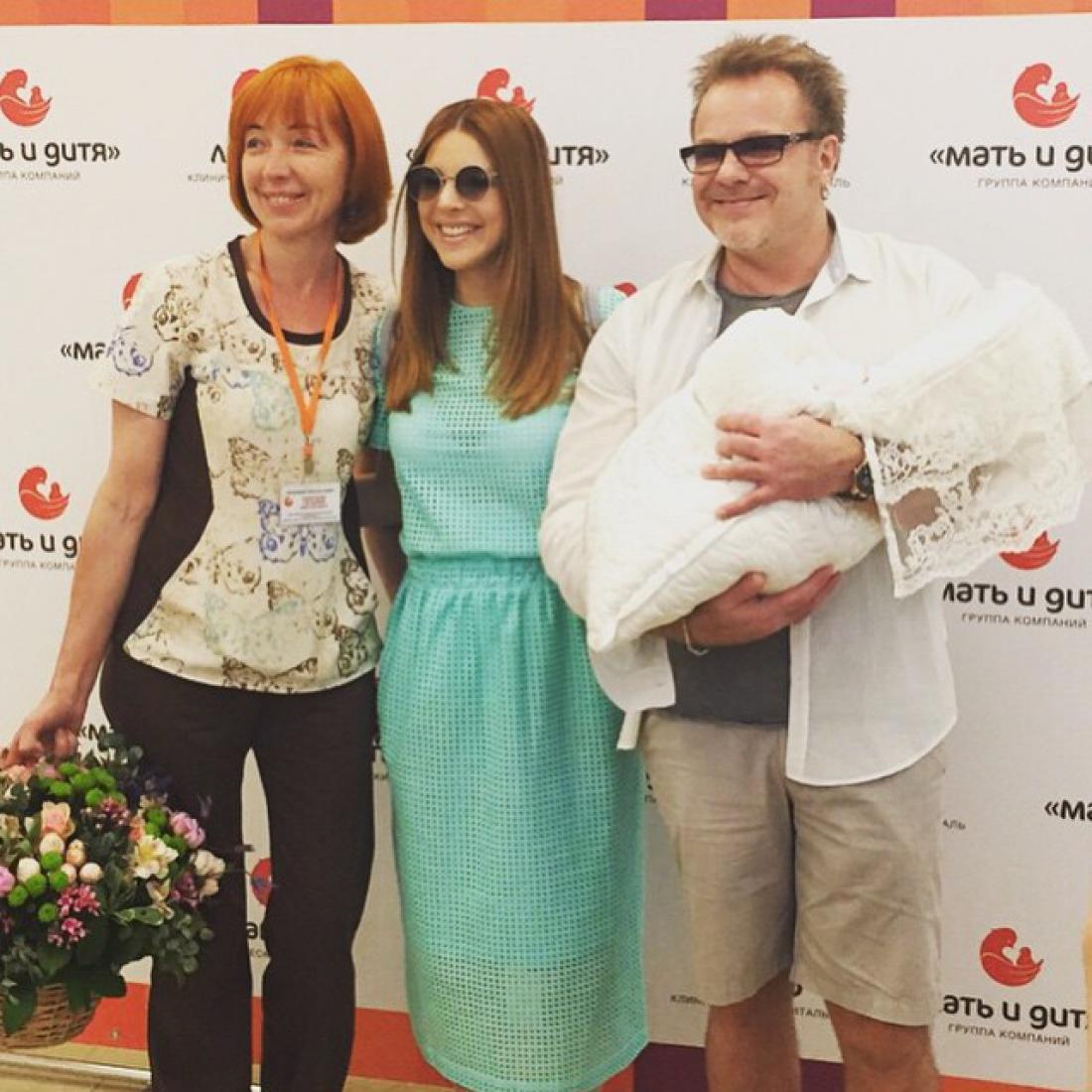 Владимир Пресняков и Наталья Подольская стали родителями
