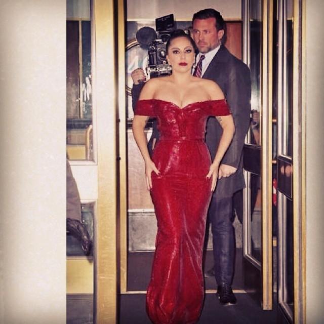 Леди Гага похудела