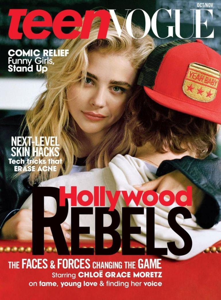 Хлоя Морец появилась на обложке глянца с Бруклином Бекхэмом